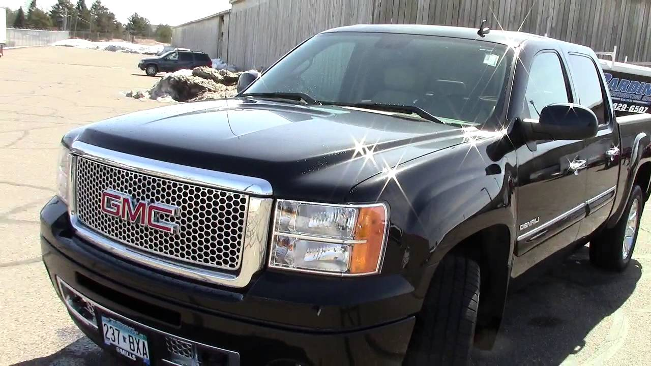 2010 gmc sierra 1500 denali crew cab youtube. Black Bedroom Furniture Sets. Home Design Ideas