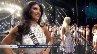 Miss Universe 2015 - Top 15 (HD)