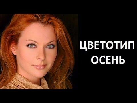Цветотип ОСЕНЬ.Теория 12 месяцев. Юлия Медведева #цветотипосень