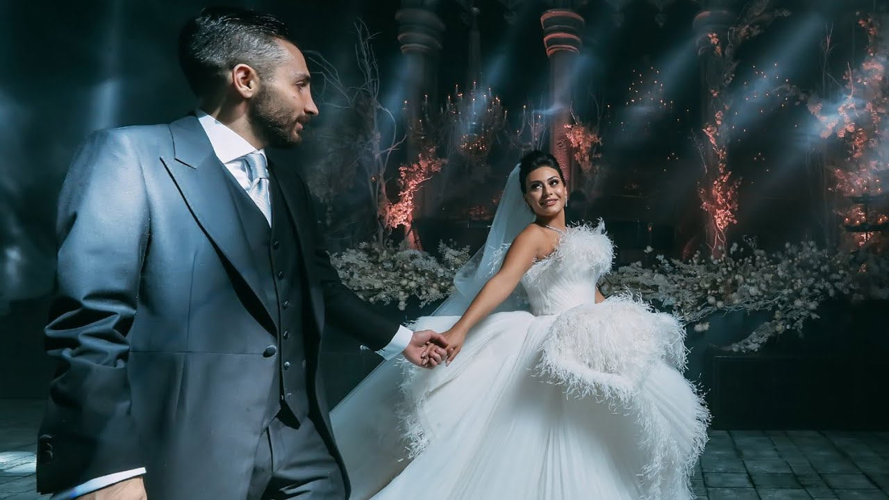 Dramatic and Romantic Wedding Straight Out Of A Fairytale Book!