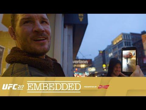 UFC 217 Embedded: Vlog Series - Episode 2