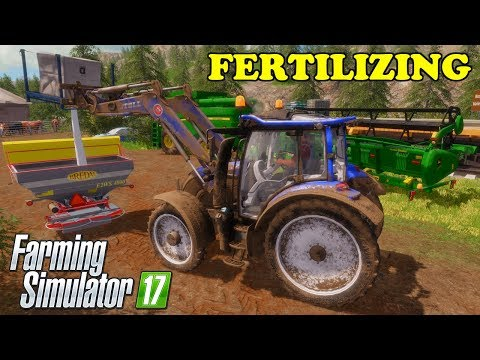 Farming Simulator 17 | The Abandoned Forest | Timelapse | Episode 19 | FERTILIZING thumbnail