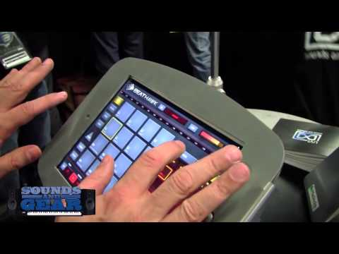 NAMM 2014: UVI BeatHawk iOS beat making app