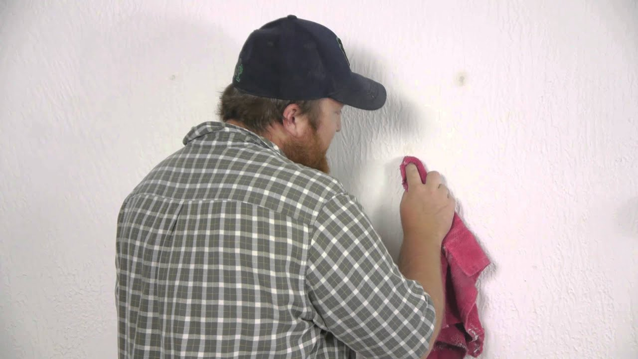 Wonderful How To Remove Wall Adhesive From Painted Walls : Repairing Walls   YouTube Part 29