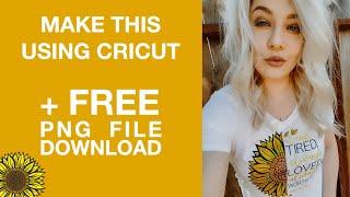 Layering Glitter Iron On | Mothers Day Tshirt | Sunflowers