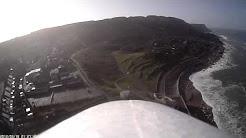 Rc Flight over Chesil at the Cove House Inn Portland 25-03-14