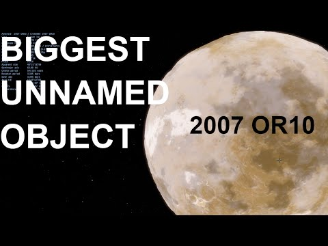 2007 OR10 - Largest Unnamed Object in Solar System - Space Engine