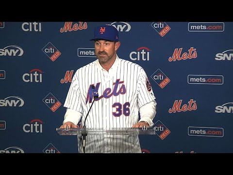 Callaway introduced by Mets as new manager
