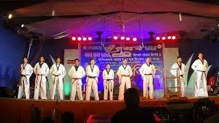 Demonstration Of Taekwondo Kicks, Poomsae And Sparring By Chandannagar Taekwondo Association