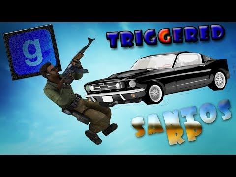 HES TRIGGERED | Santos RP (Episode 1) Part 1 - Garry's Mod