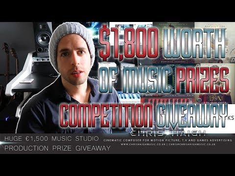 HUGE MUSIC PRIZE GIVEAWAY COMPETITION - Chris Haigh & Adrian Tucker (� worth of music prizes)