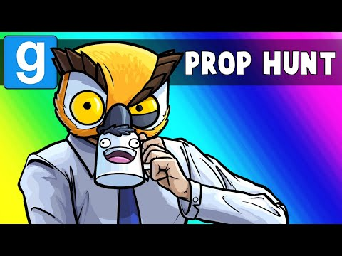GMod Prop Hunt Funny Moments - Vanoss, Tax Accountant! (Garr