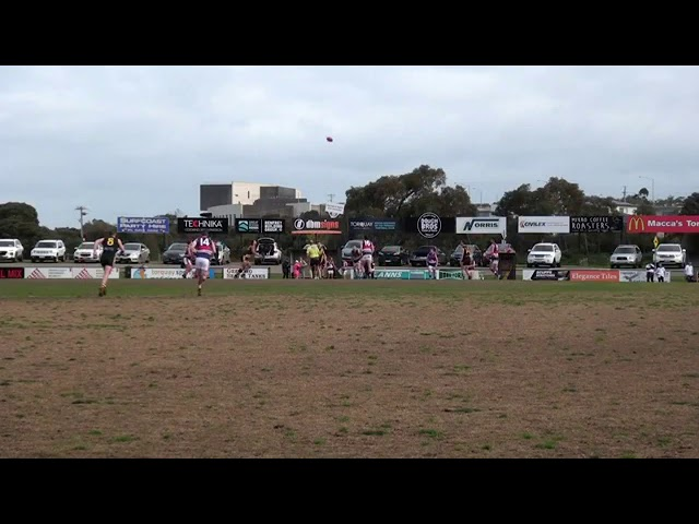 Rd 16 Torquay vs Queenscliff Centre Bounces
