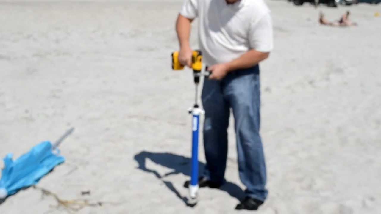 Beach Umbrella Anchor Holder
