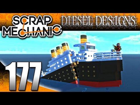 Scrap Mechanic Gameplay :E177: Sinking...