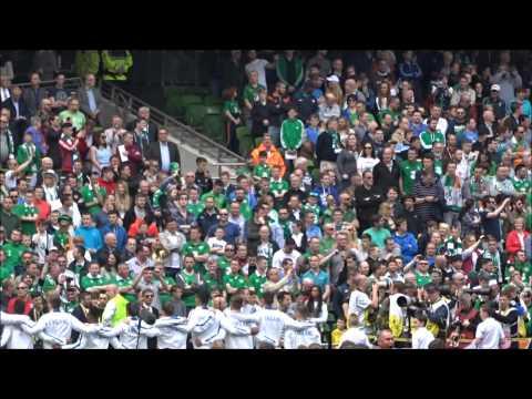 Republic of Ireland vs England   National Anthems   Aviva Stadium - 7th June 2015