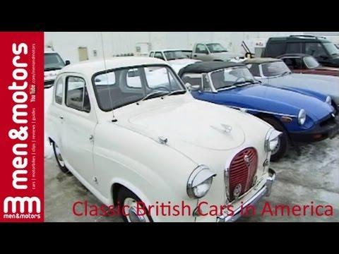 Classic British Cars in America