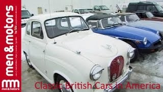 Classic British Cars in America