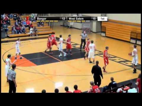 Boys Basketball- Bangor vs West Salem