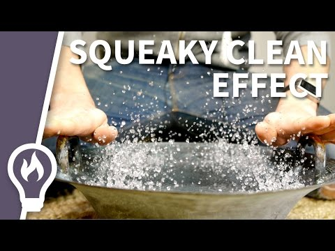 The squeaky clean effect - the chinese spouting bowl