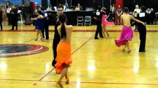 2011 MIT Open Ballroom Dance Competition Intermediate Cha Cha Semi Final