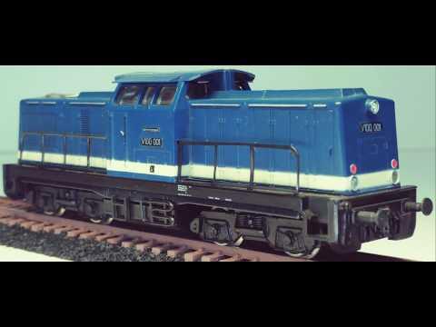 Modellbahn H0 Baureihe V 100 Gützold 17100 BR V 100 001 DR im Detail