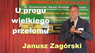 U progu wielkiego przełomu - Janusz Zagórski