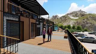 Denizli Merkezefendi Belediyesi Ornaz Vadisi Sosyal Tesisi Tasarımı