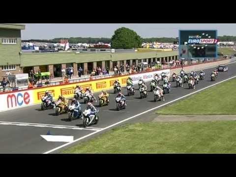 MCE Insurance British Superbike Championship - Snetterton Race 1 Highlights