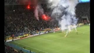 любительское видео с матча Украина Англия на стадионе