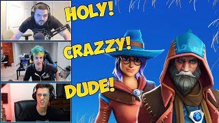STREAMERS REACT TO *NEW* CASTOR SKIN & ELMIRA SKIN ( New Shop Fortnite Today )►New Fortnite#16
