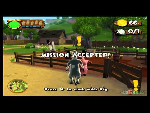 Barnyard - Gameplay Wii (Original Wii)