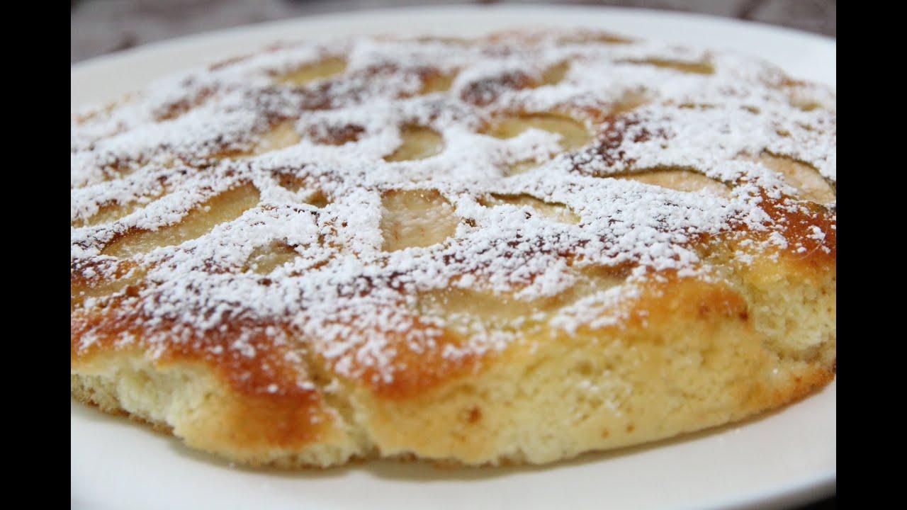 Тесто на пирог с грушами