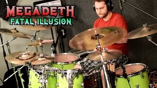MEGADETH - Fatal Illusion - Drum Cover - Dystopia Mp3