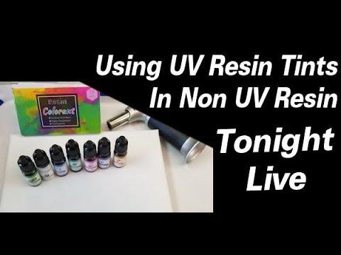 #255 Using UV Resin Tints In Resin | Resin Pouring | Resin Art | Resin Tutorial