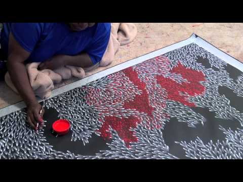Aboriginal Art Abie Loy Kemarre 1563