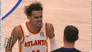 Trae Young Furious With Referee at the End of Game - Hawks vs Mavericks | February 10, 2021