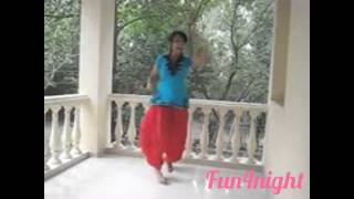Girls Danssing Funny Video