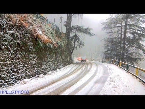 SNOWFALLS IN THE QUEEN OF HILLS- SHIMLA- MOST AMAZING VIDEO OF SNOWFALLS IN SHIMLA YOU EVER WATCHED.