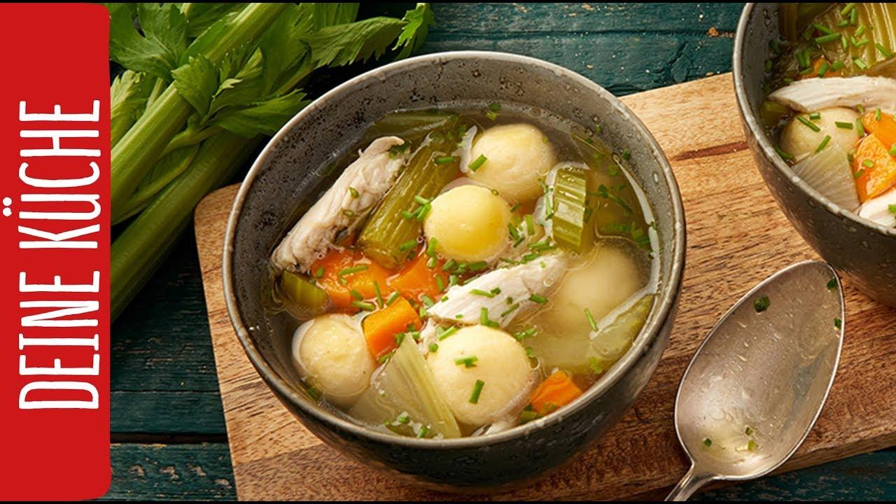 Hühnersuppe nach Omas Rezept | REWE Deine Küche - YouTube