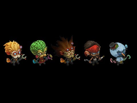 Heimerdinger Glitch or Bug (March 18th 2014) - New Heimerdinger Visual Update - League of Legends