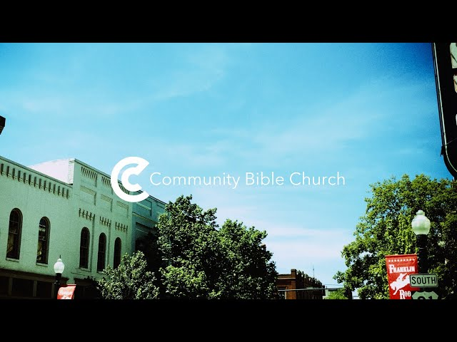 Sermon: The Purpose of the Church, Part 7 - Trusting In God's Provision