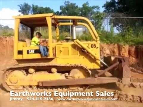 1969 CAT D5 - FOR SALE! - YouTube