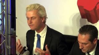 Press Conference Geert Wilders Vienna Austria March 27 2015