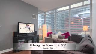 8 Telegram Mews Unit 707, Toronto, ON