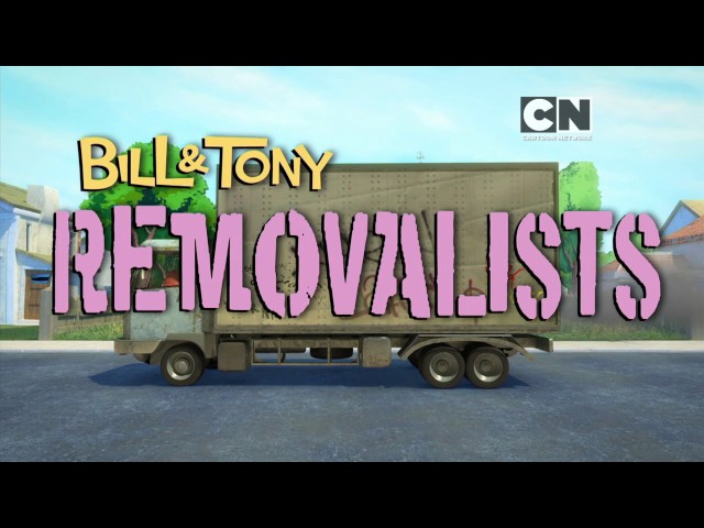 Bill & Tony: The Removalists (Tappable Pictionary)