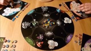 Time 'n' Space (Pegasus / eggertspiele) - InPlay Timelapse *Brettspiel Lichtbilder*