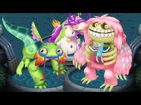 My Singing Monsters - Bona-Petite  Pixolotl  Astropod (Trio) - YouTube