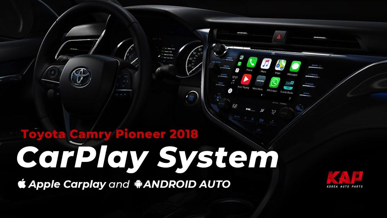 Toyota Camry 2018 2019 Carplay Android Auto