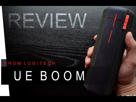 UE BOOM Bluetooth Speaker - REVIEW